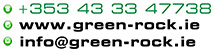 contact details for green rock
